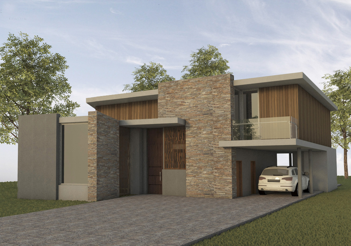 casa-hormigon-visto-y-madera